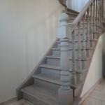zandstralen houten trappen