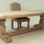 zandstralen van houten meubelen