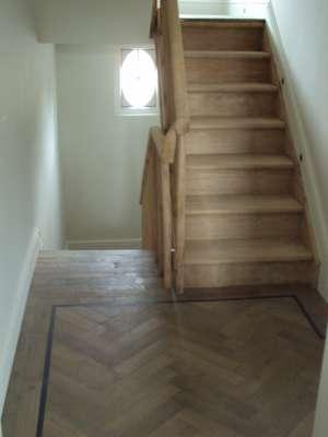 Tweedehands houten trap