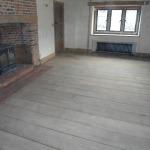 zandstralen van houten vloeren - parketvloeren